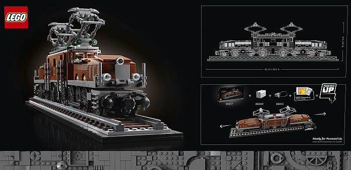 10277 LEGO Train 2