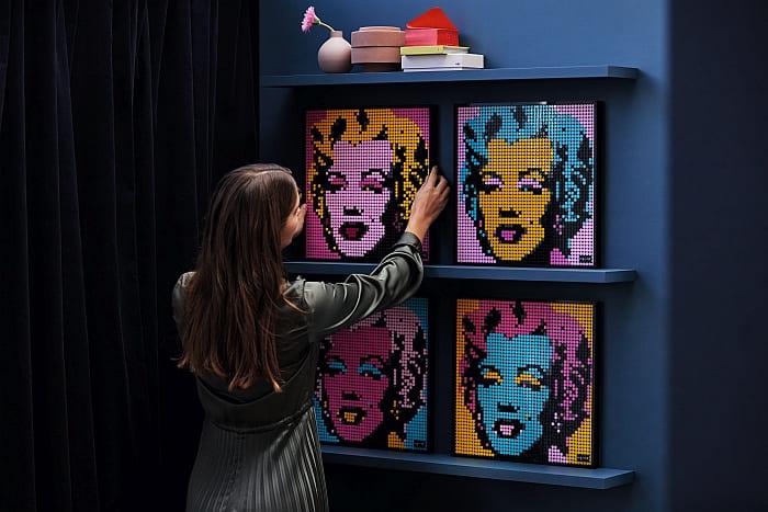 LEGO Art Portraits 2