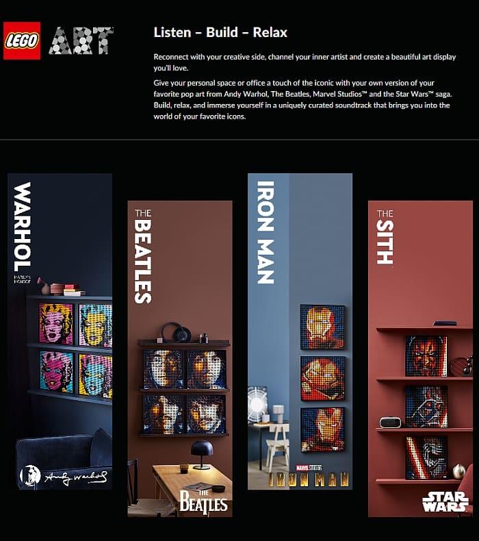 LEGO Art Portraits 12