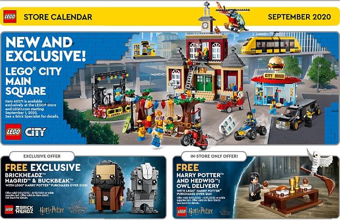 Lego Calendar August 2021 September 2020 – New LEGO Sets & Promotions