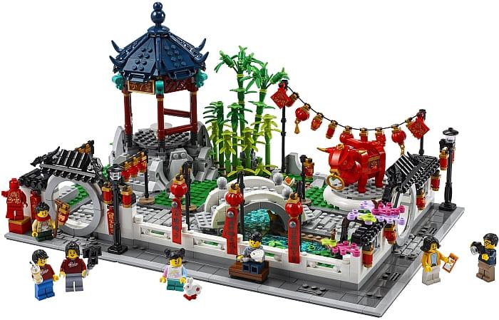 LEGO Chinese New Year Set 2021 Spring Festival