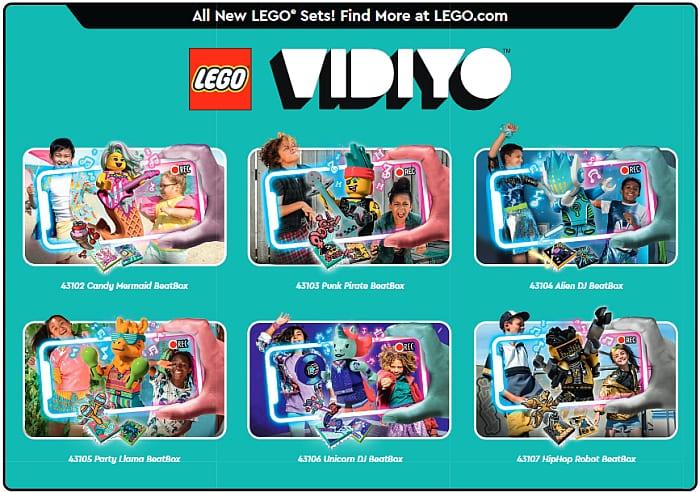 LEGO Store Calendar March 2021 Vidiyo