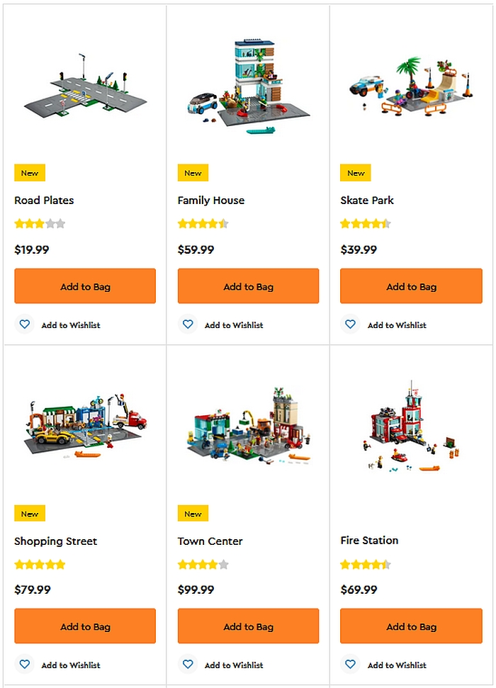Shop LEGO City 2021