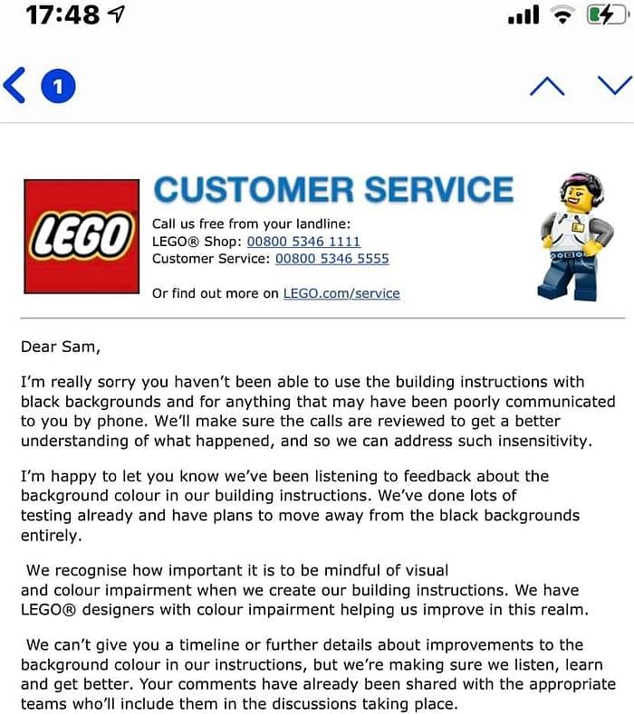 LEGO Black Instructions 1