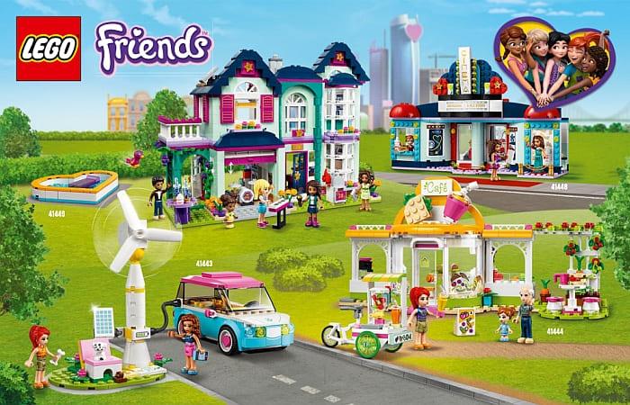 LEGO Friends 2021 Sets Review 1