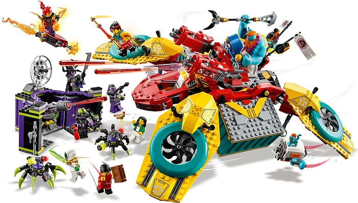LEGO Monkie Kid 2021 Sets Review 7