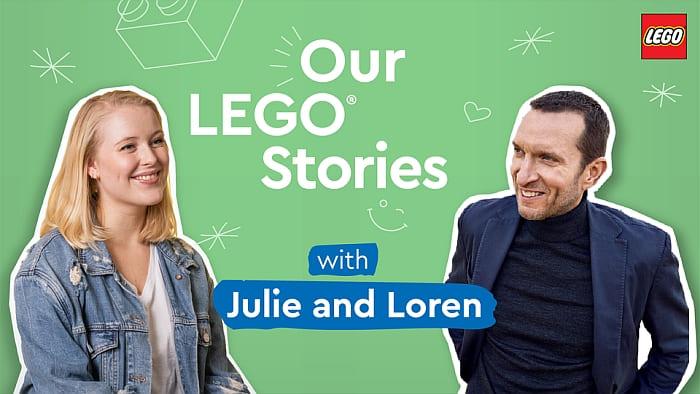 LEGO Podcast LEGO Stories 1