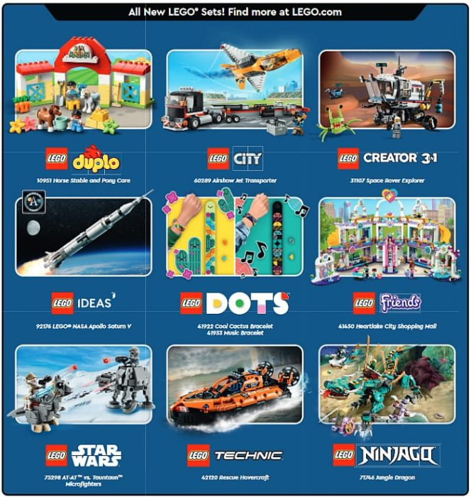 LEGO Store Calendar April 2021 Shop