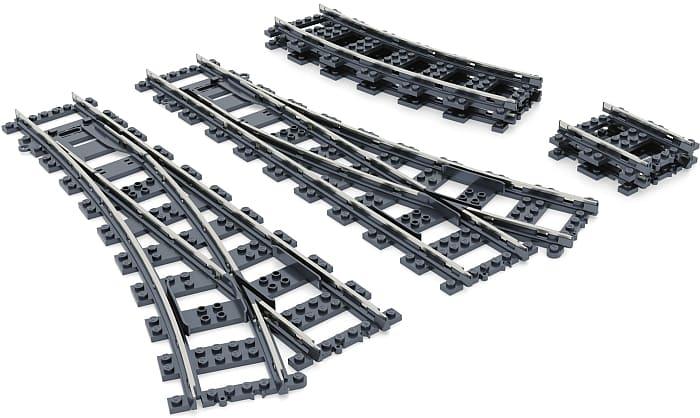 LEGO Train Metal Tracks by FX Bricks 1