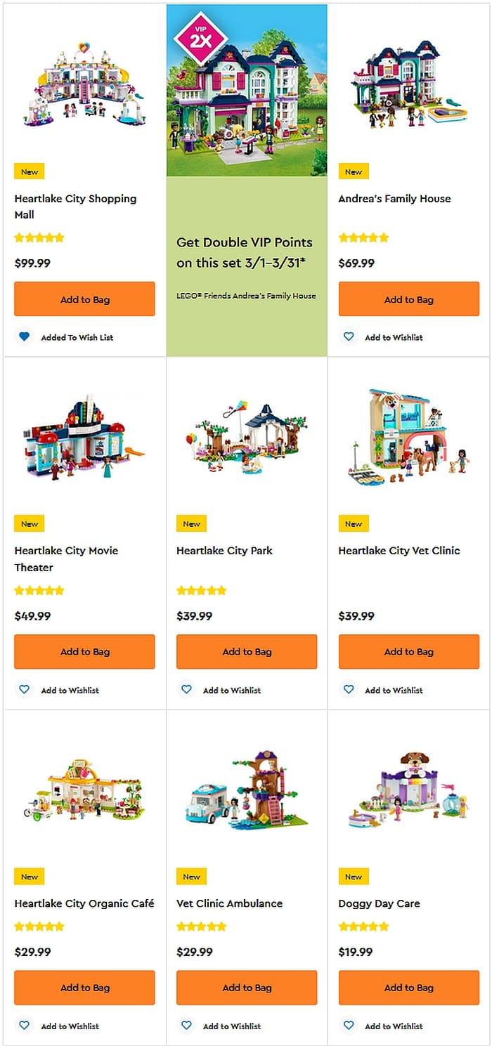 Shop LEGO Friends 2021