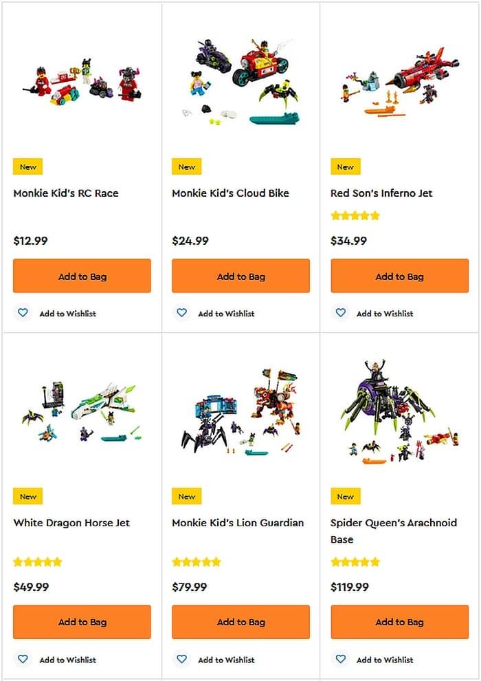 Shop LEGO Monkie Kid 3
