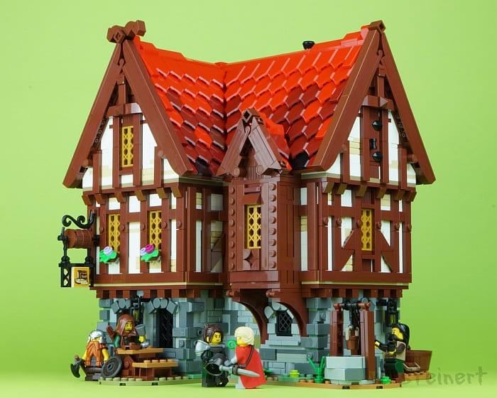 Custom LEGO Medieval Building 3