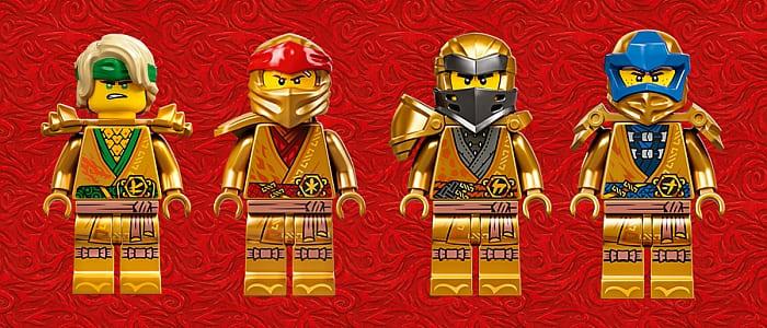 LEGO Golden Anniversary Minifigs Ninjago 3