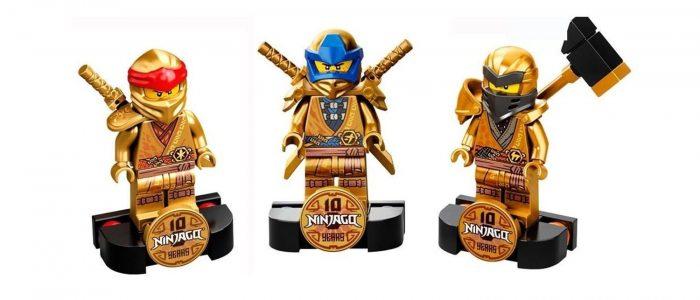 LEGO Golden Anniversary Minifigs Ninjago