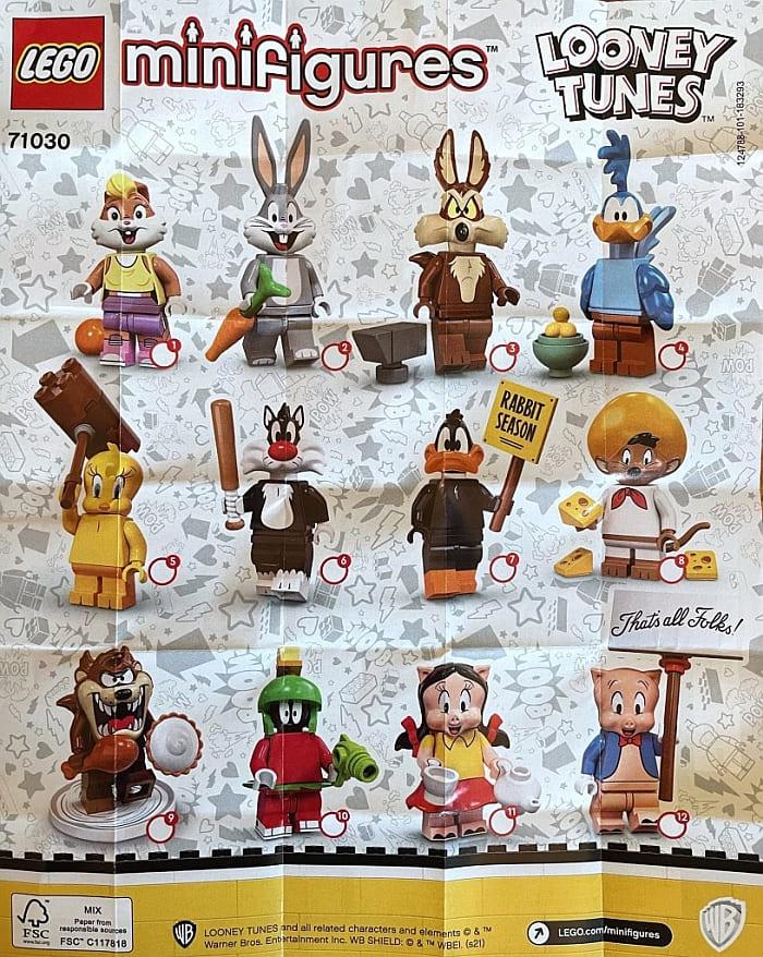 LEGO Looney Tunes Minifigures 2