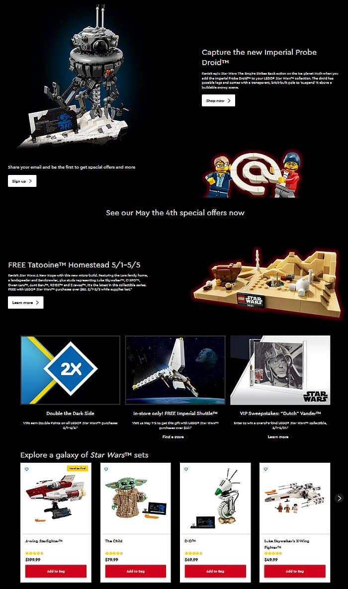 LEGO Star Wars Day 1