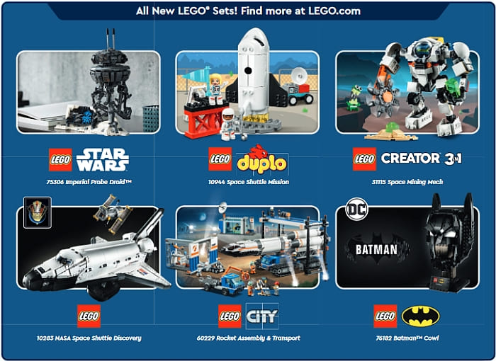 LEGO Store Calendar May 2021 Details