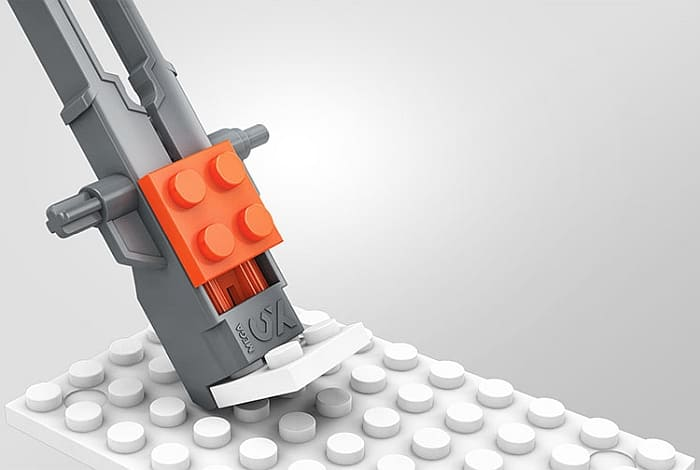 Mega Construx Brick Separator