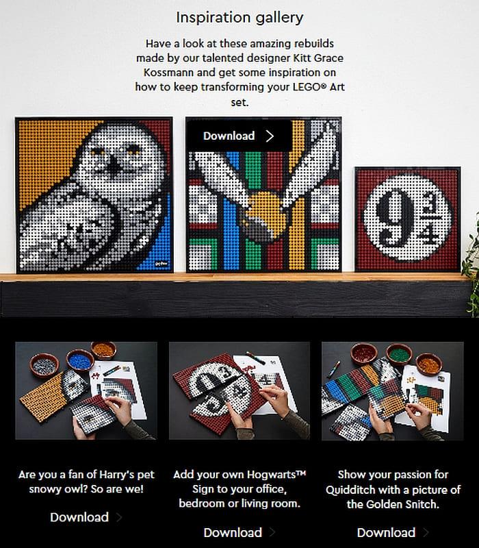 Shop LEGO Art Sets 4