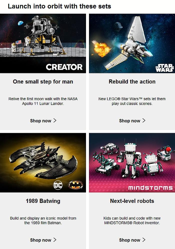 Shop LEGO Double VIP Points 10