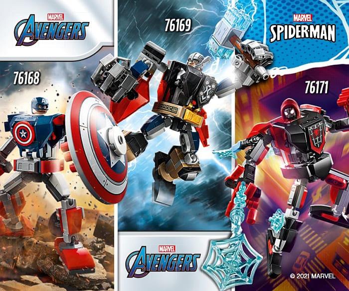 Shop LEGO Marvel Super Heroes Mechs 2