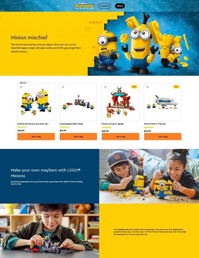 Shop LEGO Minions