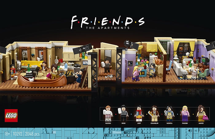 10292 LEGO Friends Apartments 1