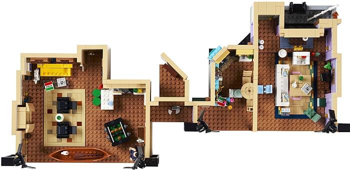 10292 LEGO Friends Apartments 11