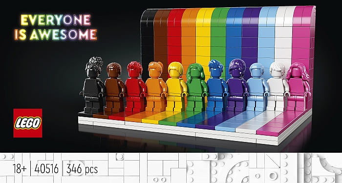 40516 LEGO Rainbow 1