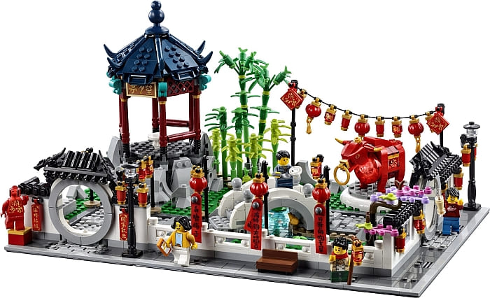 80107 LEGO Chinese New Year Set Review 3
