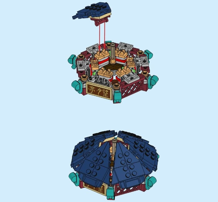 80107 LEGO Chinese New Year Set Review 8