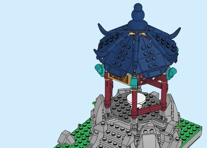 80107 LEGO Chinese New Year Set Review 9