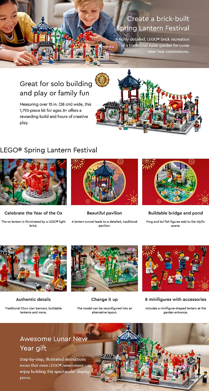 80107 LEGO Chinese New Year Set Review