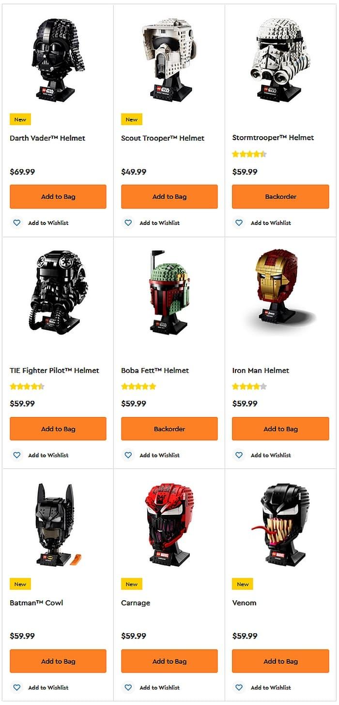 Shop LEGO Helmets 3