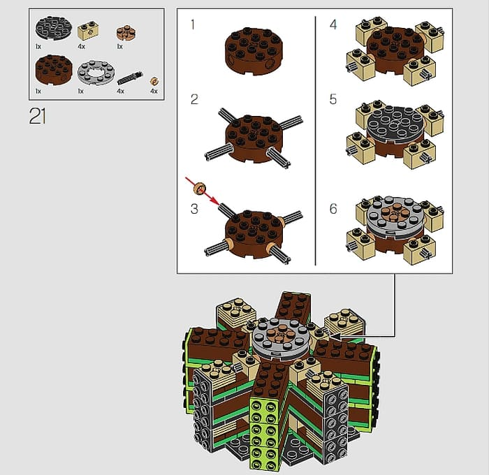 10289 LEGO Bird of Paradise 9