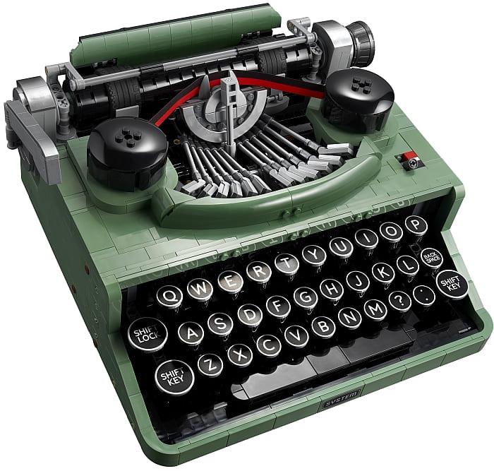 21327 LEGO Typewriter 9