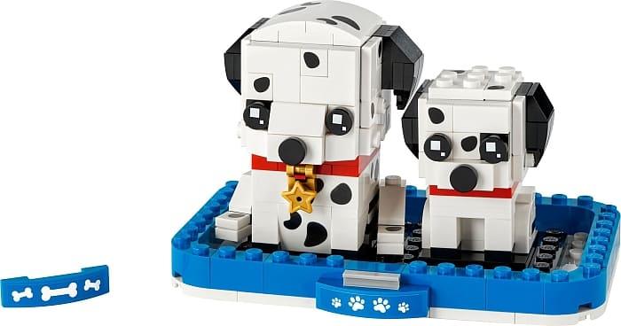 40479 LEGO BrickHeadz Pets Dalmatians 1