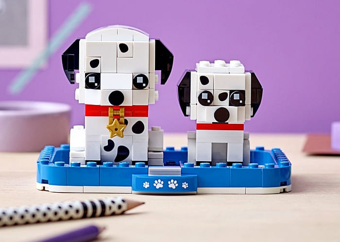 40479 LEGO BrickHeadz Pets Dalmatians 2