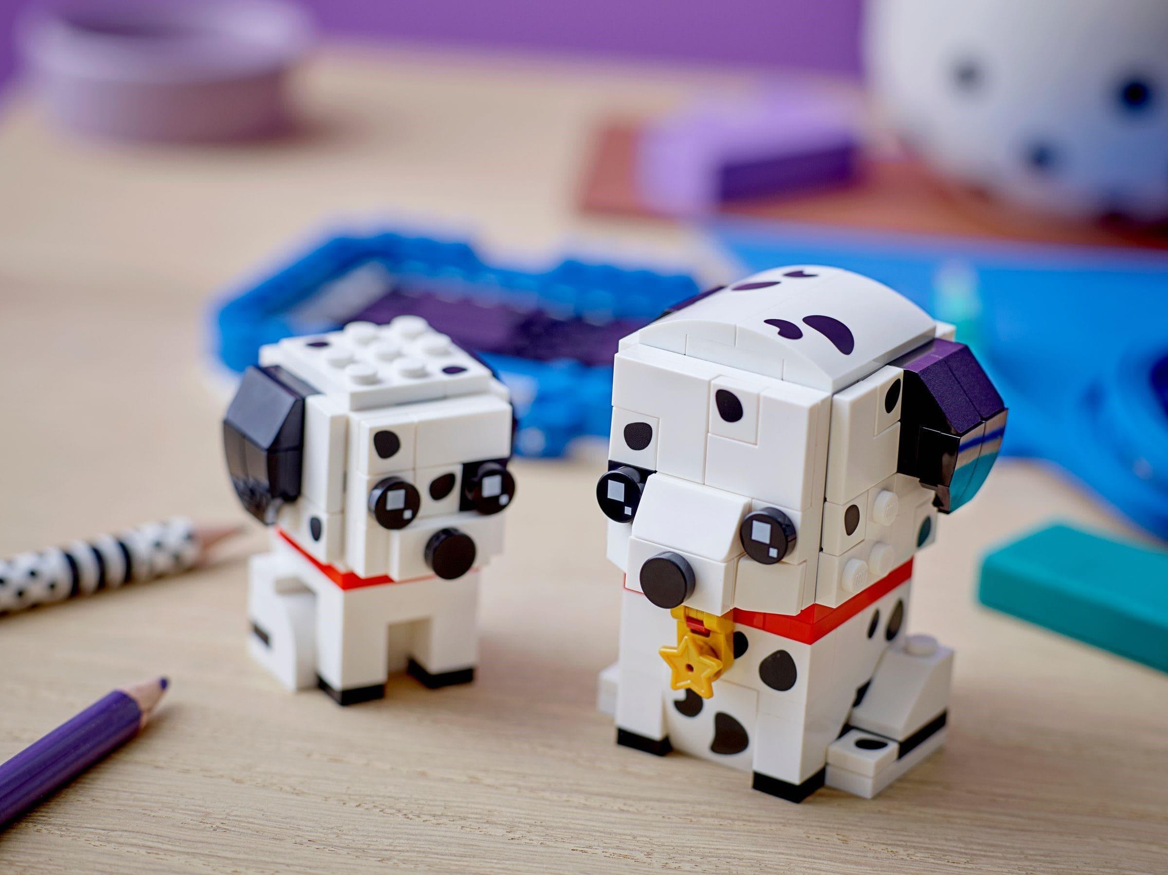 40479 LEGO BrickHeadz Pets Dalmatians 4