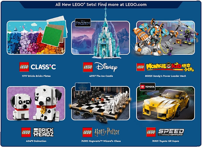 LEGO Store Calendar July 2021 Details