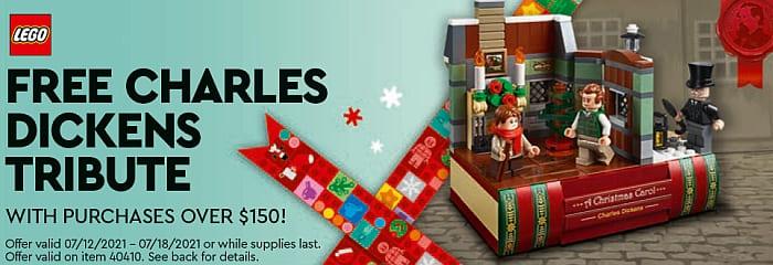 LEGO Store Calendar July 2021 Dickens