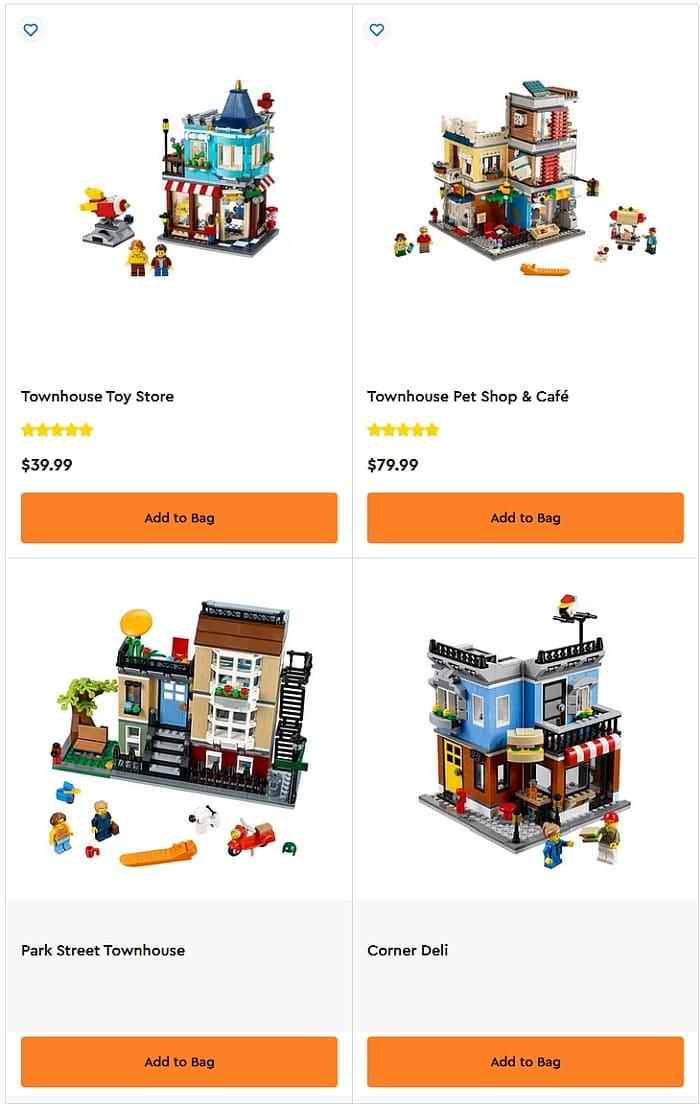Shop LEGO Mini Modulars