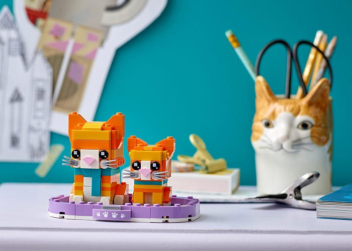 40480 LEGO BrickHeadz Pets 3