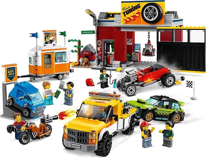 60258 LEGO City Tuning Workshop 1