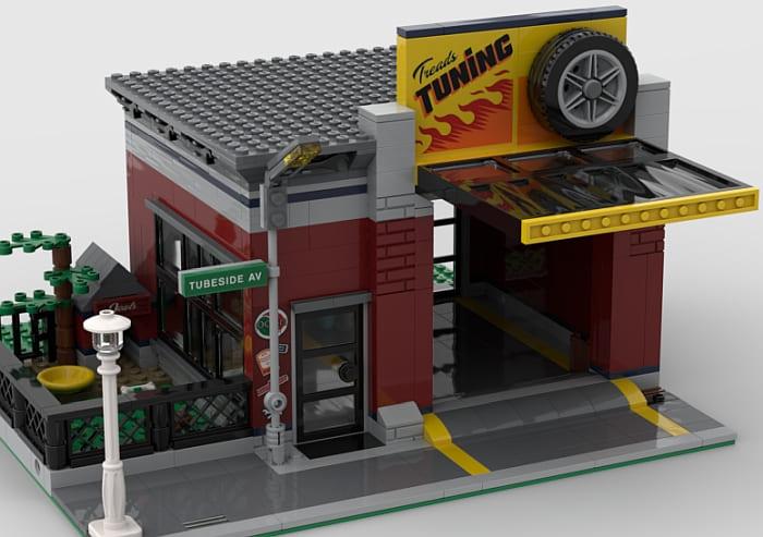 60258 LEGO City Tuning Workshop Modification