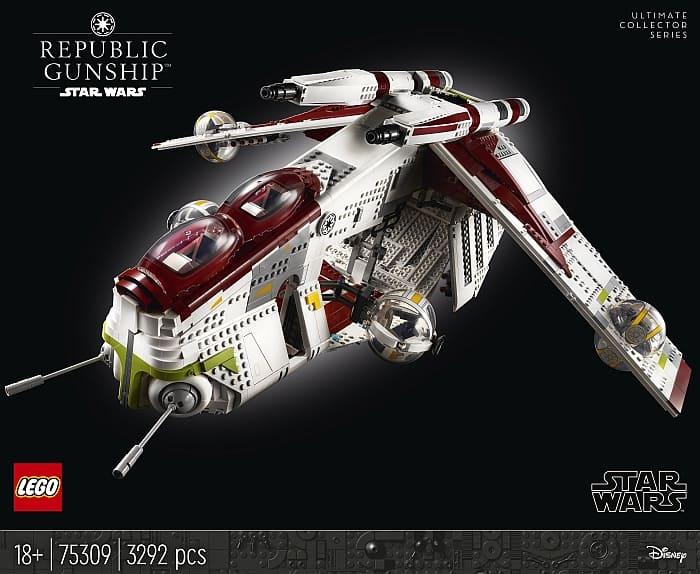 75309 LEGO Star Wars Republic Gunship 4