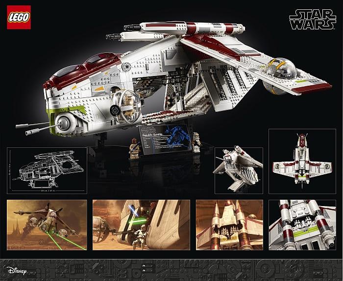 75309 LEGO Star Wars Republic Gunship 5