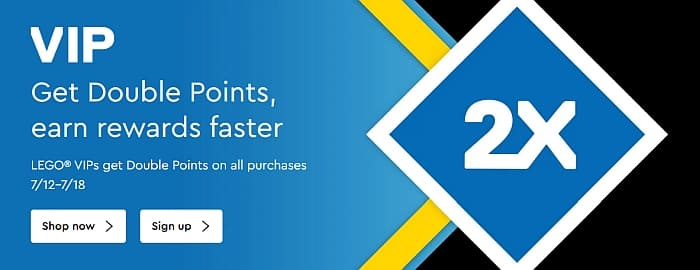 LEGO Double VIP Points July 2021 2