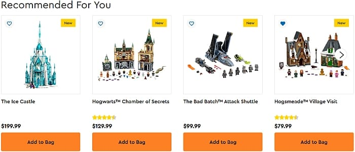 LEGO Double VIP Points July 2021 3