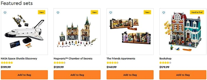 LEGO Double VIP Points July 2021 7